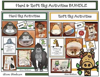 40% off: BUNDLED Hard & Soft Gg Activities, Centers, Crafts & Games