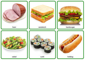 Photo Vocabulary Cards Bundle - 450 NOUNS - 3 Formats