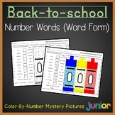 Color It In Place Value Word To Standard Form Mystery Pictures Activity