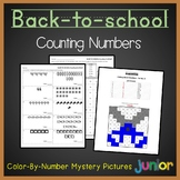 Math Count And Color Place Value Beginning Of The Year Activity