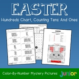 Easter Hundreds Chart, Counting Tens And Ones Mystery Pictures