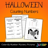 Counting Kindergarten Math Fall Halloween Kinder, 1st Grade Activities