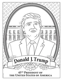 45th President United States Donald Trump