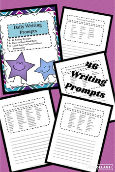 46 Daily Writing Prompts