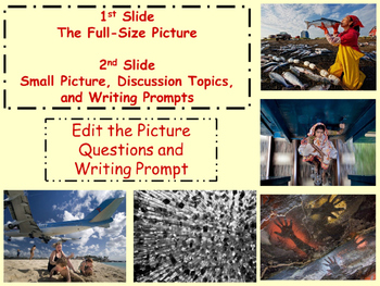 PICTURE OF THE DAY 2nd Nine Weeks Writing, Geography, Cause Effect, Predictions