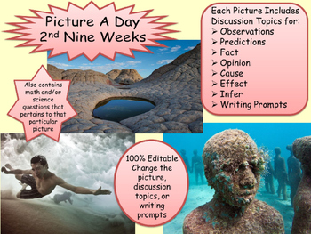 PICTURE OF THE DAY 2nd Nine Weeks Writing, Geography, Caus