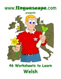 46 Worksheets to learn Welsh