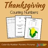 Counting Kindergarten Math Thanksgiving Kinder, 1st Grade Activities