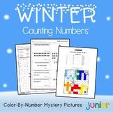 Counting Kindergarten Math Fall Winter Kinder, 1st Grade Activities