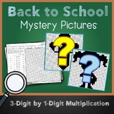 Middle School Math Back To School Multiplication Color By Number Mystery Picture