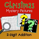 Christmas 2 Digit Addition Coloring Pages Mystery Pictures
