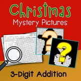 Christmas 3 Digit Addition Coloring Pages Mystery Pictures