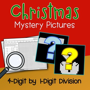 Color By Number Long Division Math Worksheets Christmas Fun Sheets