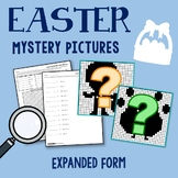 Easter Expanded Form Place Value To The Millions, Coloring Easter Lessons Math