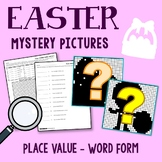 Easter Word Form Coloring Pages