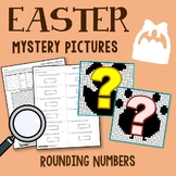 4698 Easter Rounding Numbers Coloring Pages
