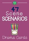 47 SCENE SCENARIOS Drama Cards