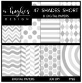 12x12 Digital Paper Set: 47 Shades Short {A Hughes Design}