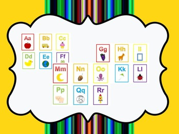 47 pages flash cards and 3 Back to School themed preschool educational games.