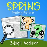 Spring 3 Digit Addition Coloring Pages