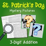 St. Patrick's Day 3 Digit Addition Coloring Pages