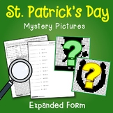 St. Patrick's Day Expanded Form Coloring Pages