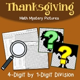 Color By Number Long Division Math Worksheets Thanksgiving Fun Sheets