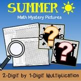 Multiplication Color By Number Summer Tutoring Math Multiplication Color Sheets