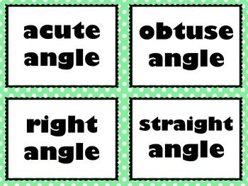 4.7C & 4.7D Measuring and Drawing Angles Task Cards SET 1