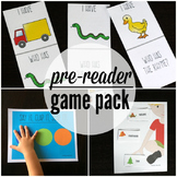 21 Pre-Reader Games