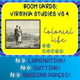 Virginia Studies SOL Review Colonial Life VS 4