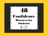 48 CONFIDENCE BOOSTERS FOR STUDENTS