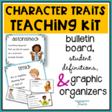 Character Traits Vocabulary | Character Traits Activities