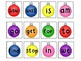 48 Christmas Ornament Sight Word Cards/Memory Match Station - Kindergarten