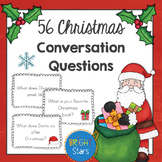 56 Christmas Question Cards/Writing Prompts