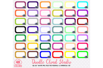 48 Colorful Blueberry Labels Clipart Fruit Blueberries Labels Stickers Icon.