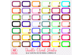 48 Colorful Cherry Labels Clipart Fruit Cherries Labels Stickers Icons.