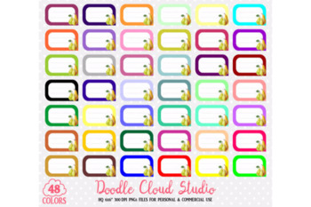 48 Colorful Pear Labels Clipart Fruit Pears Labels Stickers Icons .