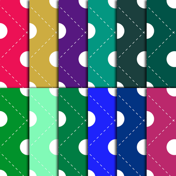 48 Digital Paper,Background in Different Colors