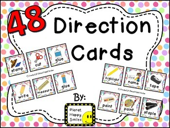 48 Directions Cards~ Owl Theme