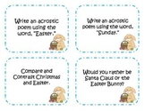 48 Easter Writing Prompts and Story Starter Task Cards
