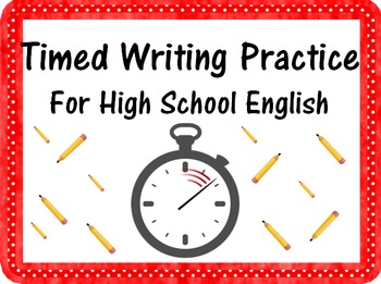 48 Fun Writing Prompts for Timed Essay Practice or Journal