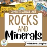 Rocks and Minerals Unit (Google Classroom Compatible)   Di
