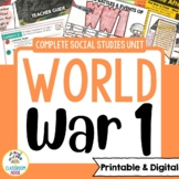 World War One (WW1) Unit [Google Classroom Compatible]