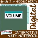 Fifth Grade DIGITAL Math Interactive Notebook: Volume {TEKS 5.6}