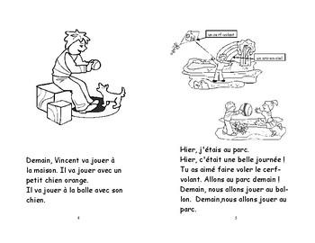 48) Hier et aujourd'hui - livret de lecture ENFANT C1 1ère-2e