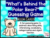 """""""What's Behind the Polar Bear?"""" Guessing Game BOOM CARDS V"""