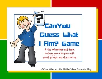 Can You Guess What I Am? Icebreaker and Teambuilding Game