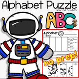 Alphabet Puzzle and Handwriting Practice