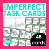 48 Spanish Imperfect Tense Task Cards (Regular and Irregul